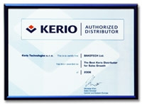 BAKOTECH Becomes the Best Kerio Technologies Distributor in 2006
