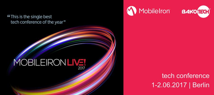 Tech conference MobileIron Live! EMEA from MobileIron